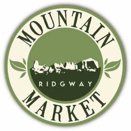 Ridgway Mountain Market Logo CMYK