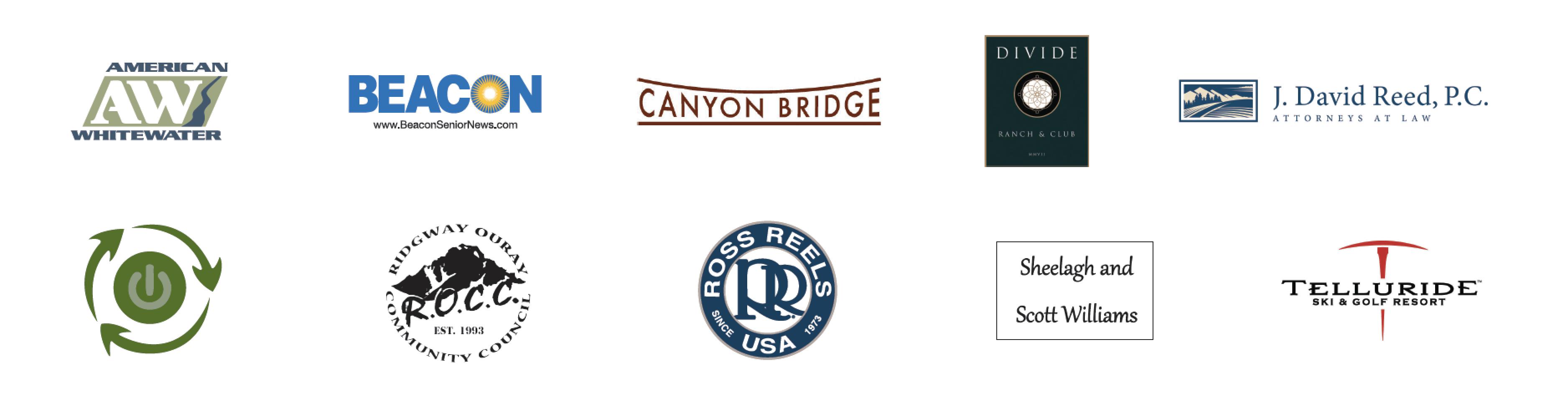 2019 Ridgway RiverFest Sponsors – 13th annual Ridgway RiverFest