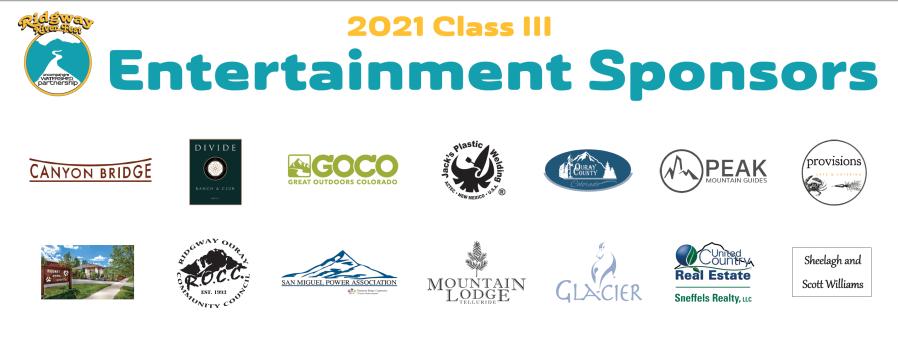Class III Entertainment Banner
